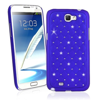 BasAcc Blue Diamond Snap-on Case for Samsung� Galaxy Note II N7100