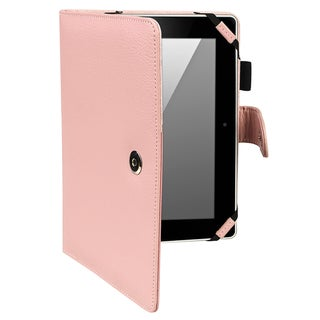 BasAcc Pink Leather Case for Amazon Kindle Fire HD 8.9-inch