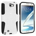 BasAcc Black/ White Hybrid Case for Samsung Galaxy Note II N7100