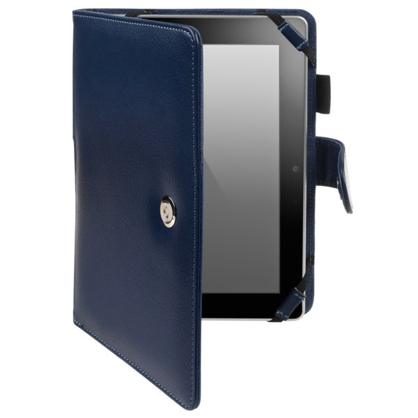 BasAcc Light Blue Leather Case for Amazon Kindle Fire HD 7-inch