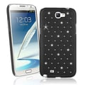 BasAcc Black Diamond Snap-on Case for Samsung Galaxy Note II N7100