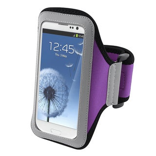 BasAcc Purple Armband for Samsung� Galaxy SIII / S3