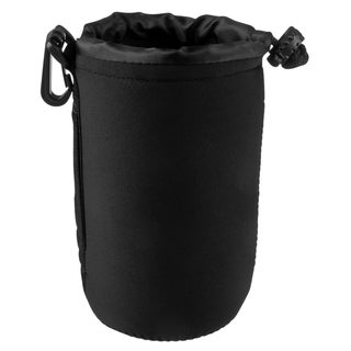 BasAcc Large Neoprene Camera Lens Bag