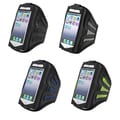 BasAcc Black/ Pink Deluxe ArmBand for Apple? iPhone 5/ iPod