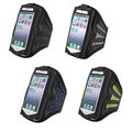 BasAcc Black/ Pink Deluxe ArmBand for Apple iPhone 5/ iPod
