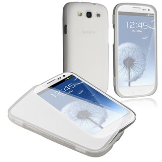 BasAcc Clear White TPU Rubber Skin Case for Samsung� Galaxy SIII / S3