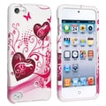 BasAcc White/ Pink Snap-on Case for Apple� iPod touch 5th Generation