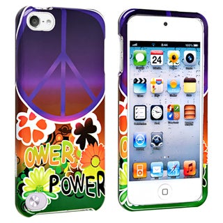 BasAcc Peace Sign Snap-on Case for Apple� iPod touch 5th Generation