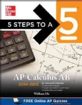 5 Steps to a 5 Ap Calculus AB 2014-2015 (Paperback)