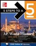 5 Steps to a 5 AP World History, 2014-2015 (Paperback)