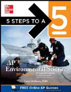 5 Steps to a 5 Ap Environmental Science 2014-2015 (Paperback)