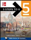5 Steps to a 5 AP English Literature 2014-2015 (Paperback)
