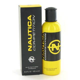 Nautica Competition Men's 4.2-ounce Eau de Toilette Spray (Yellow Package)