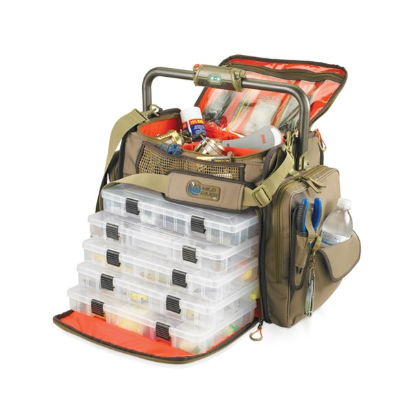 Wild River Tackle Tek Frontier 5-tray Lighted Tackle Bag