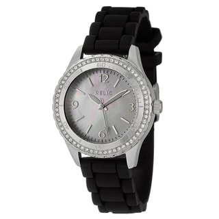 Relic by Fossil Women's Steel 'Zooey' Crystal Watch