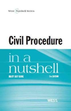 Civil Procedure in a Nutshell (Paperback)