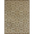 Hand-tufted Lionel Beige Wool Rug