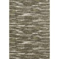 Lavern Charcoal/Green Area Rug (5'2 x 7'7)
