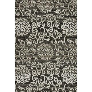 Lavern Charcoal/ Beige Rug (7'7 x 10'5)