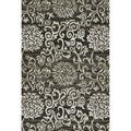 Lavern Charcoal/ Beige Rug (7&#39;7 x 10&#39;5)