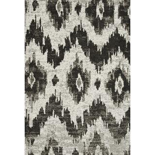 Lavern Ivory/ Charcoal Rug (5'2 x 7'7)