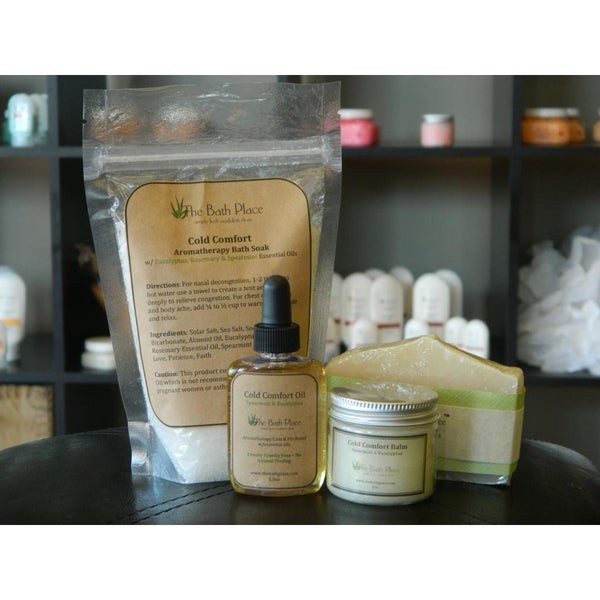 Cold Comfort Deluxe Soap and Balm Kit