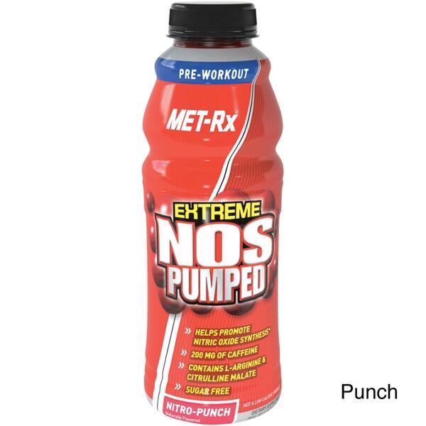 MET-Rx Extreme NOS Pumped RTD