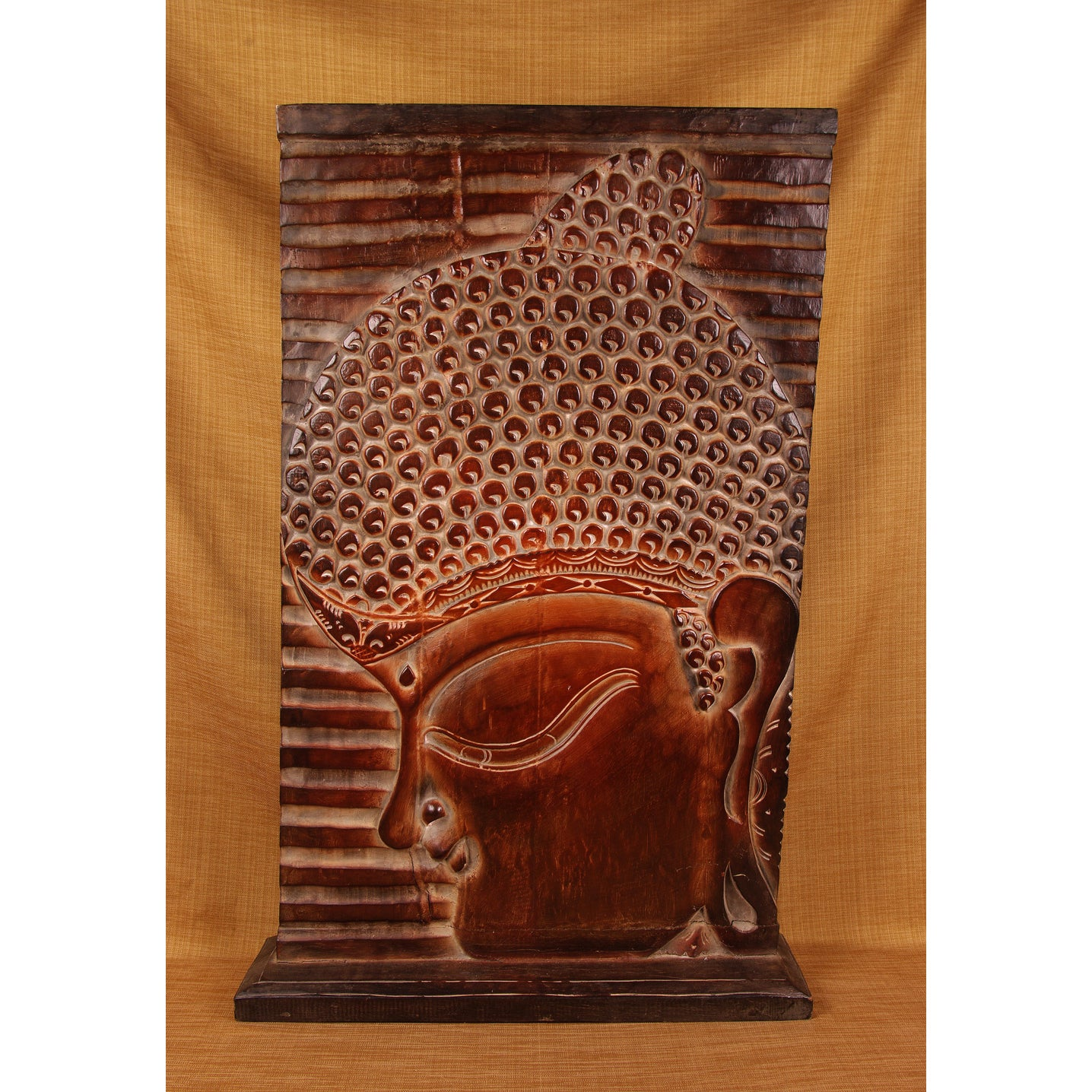 August Putra Buddha Pedestal Panel (India) Today $186.99