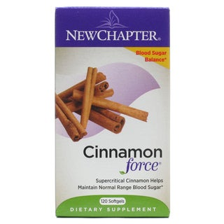 New Chapter Cinnamon Force (120 Capsules)