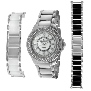 Peugeot Women's Steel Interchangeable Bracelet Watch