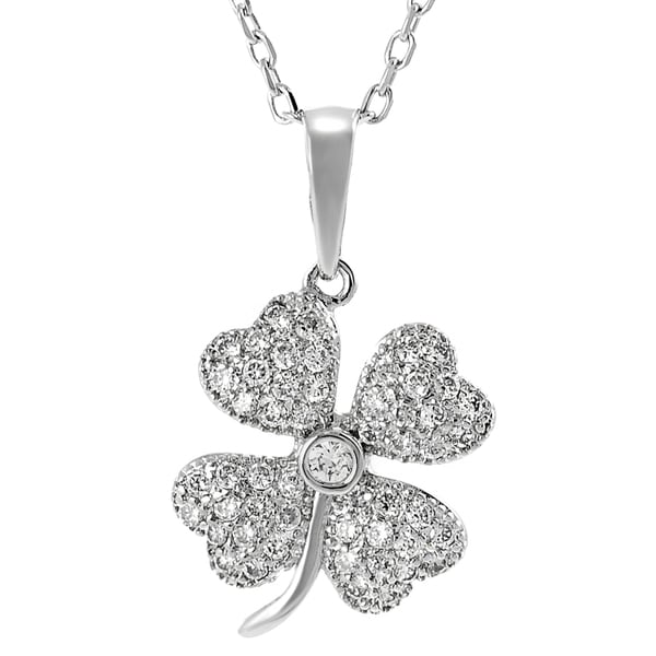 Journee Collection Sterling Silver Cubic Zirconia Necklace