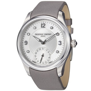 Frederique Constant Unisex 'Maxime' Mother Of Pearl Dial Watch
