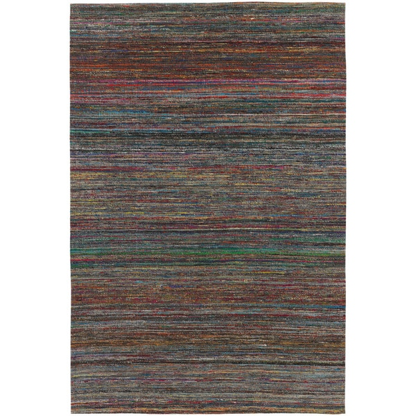 Artist's Loom Hand-tufted Contemporary Abstract Rug