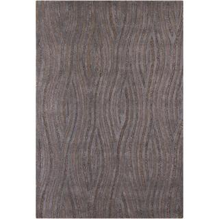 Mandara Hand-tufted Grey/ Brown Geometric Rug