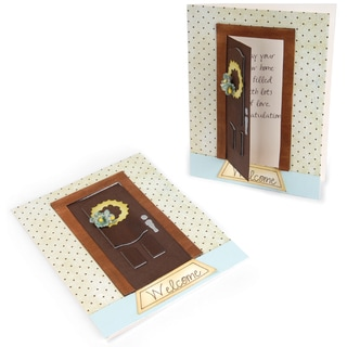 Sizzix Bigz Die-Opening Door & Wreath