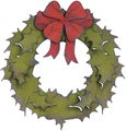Sizzix Bigz Die By Tim Holtz-Holiday Wreath