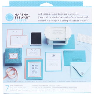 Martha Stewart Self Inking Stamp Designer Starter Kit-
