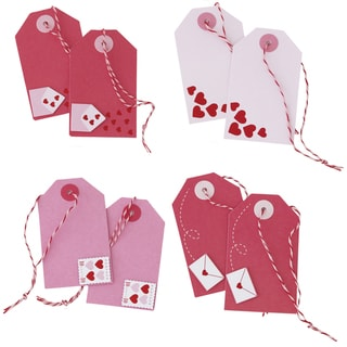 Martha Stewart Premade Tags-Valentine