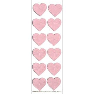 Martha Stewart Valentine Stickers-Heart Lace