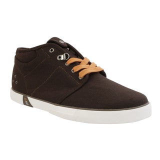 GBX Men's Brown French Wool Casual Shoes