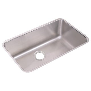 Elkay Gourmet (Lusterstone) Stainless Steel Extra Large Single Bowl Undermount Sink