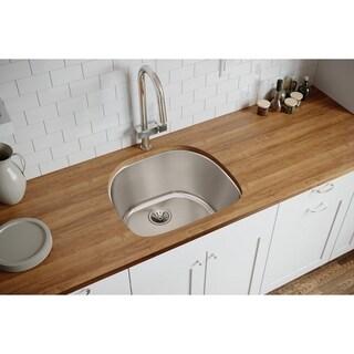 Gourmet Lustertone Stainless Steel 33-inch DLRS3322101 Top Mount Sink