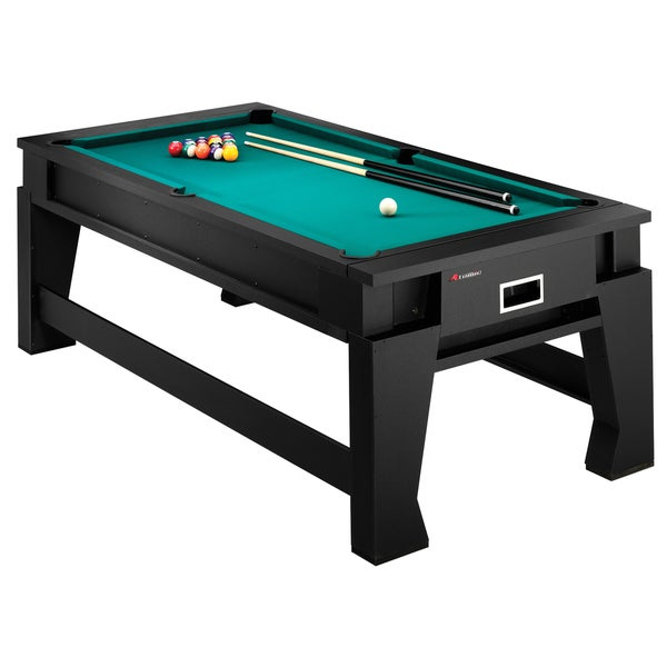Atomic 7-foot Game Choice 2-in-1 Flip Top Air Hockey and Billiards Table