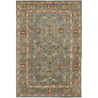 Safavieh Handmade Heritage Nir Blue Wool Rug (3' x 5')