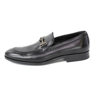 Robert Cavalli Men's 'Vitellino Nero/Camoscio' Dress Shoes