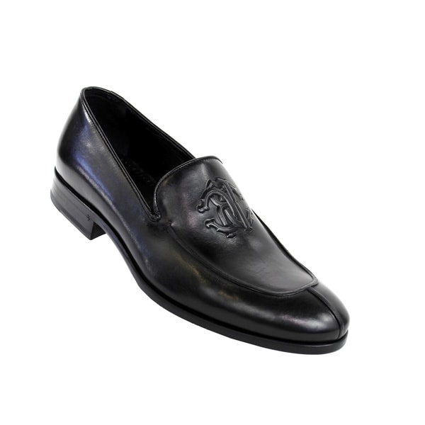 Roberto Cavalli Men's 'Calf Nero' Dress Shoes