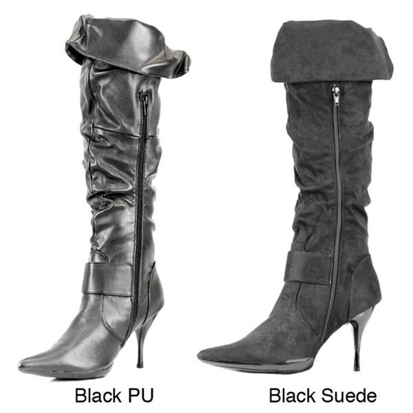 Stanzino Women's 'Zara' Stiletto-heeled Knee-high Boots