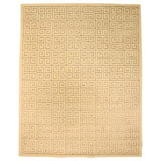 Hand-tufted 'Ethos' Ivory Wool Rug