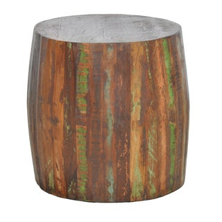 Xavier Barrel Side Table