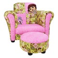Trend Lab Dora the Explorer Club Chair and Ottoman Set